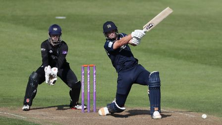 Middlesex's Hilton Cartwright during the Royal London One Day Cup, South Group match at the Brightsi