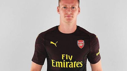 Bernd Leno will wear the No19 shirt for Arsenal. CREDIT: Arsenal FC