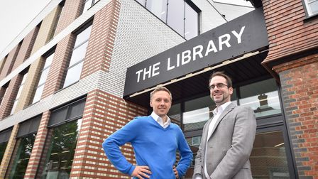 The £1m Willesden Green Library has opened today (Pic credit: Brent Council)