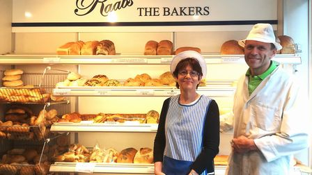 Michele and Philip Raab at Raab's The Bakers in Essex Road. Picture: Valentina Cipriani