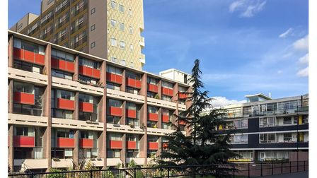 Golden Lane Estate as it could look. Campaigners are opposing the plans saying the tower block, as s
