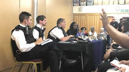 Harlesden crime meeting residents quiz police and MP