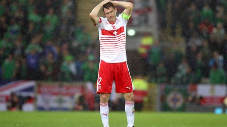 Switzerland's Stephan Lichtsteiner has signed for Arsenal (pic Niall Carson/PA)