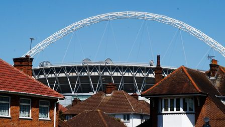 The school will be built in the shadow of Wembley Stadium. Picture: PA