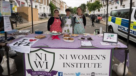 Cally Festival 2018: the N1 Women's Institute stall. Picture: Siorna Ashby