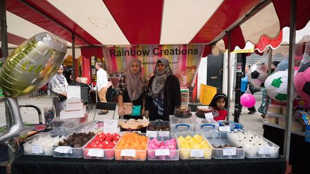 Cally Festival 2018: Rainbow Creations stall. Picture: Siorna Ashby