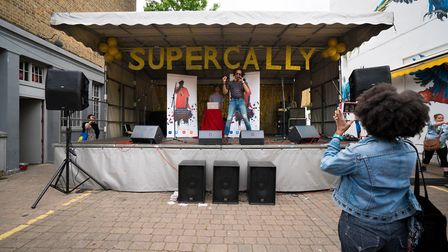 Cally Festival 2018: Steve Maxamillian on the Main Stage. Picture: Siorna Ashby