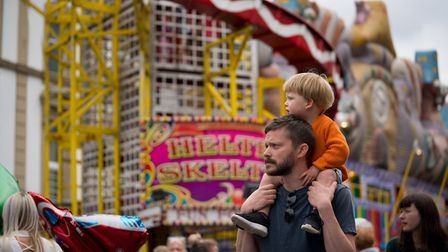 Cally Festival 2018: father and son. Picture: Siorna Ashby