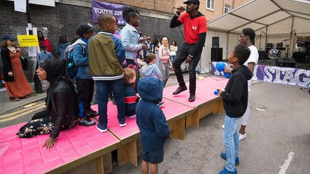 Cally Festival 2018: the Youth Stage. Picture: Siorna Ashby