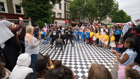 Cally Festival 2018: dancing. Picture: Siorna Ashby