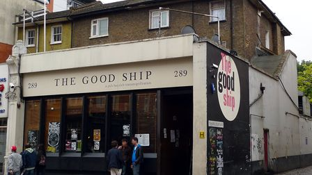 The Good Ship in Kilburn High Road, pictured in 2009. Picture: Ewan Munro/Flickr/Creative Commons (C
