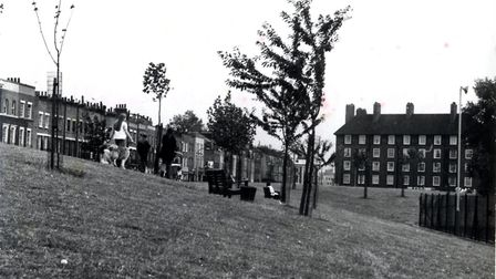 A 1970s archive photo of Barnard Park. Picture: Islington Local History Centre