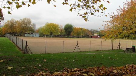 Barnard Park and the full-size sports pitch in its current form. Picture: David Holt/Flickr/CC BY 2.