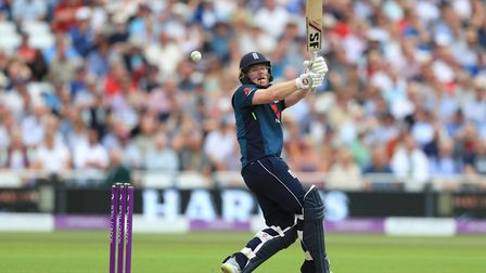 Middlesex's Eoin Morgan in action for England against Australia (pic: Mike Egerton/PA)