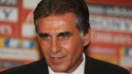 Carlos Queiroz is manager of the Iranian national team (pic PA)