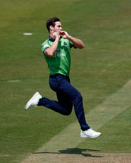 Middlesex's Hilton Cartwright during the international friendly match at Lord's (pic John Walton/PA)