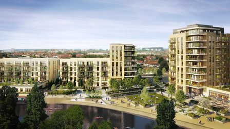How redeveloped Alperton may look after redevelop plans given green light by Brent Council