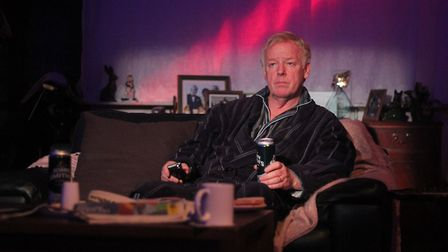 Les Dennis and Blake Harrison in End of hte Pier at The Park Theatre