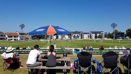 Kent's County Ground, Canterbury. CREDIT @laythy29