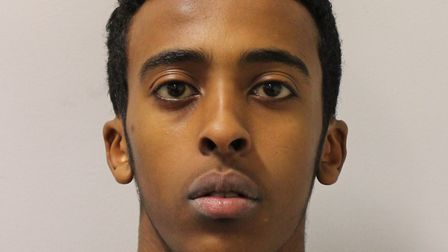 Convicted of Mohammed Hersi's manslaughter: Ahmed Hashi. PIcture: Met Police