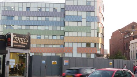 The site of the former Sir George Robey/Powerhaus premises pictured after they were demolished in 20