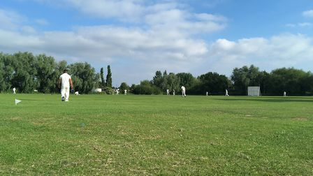 The local cricket season is well underway (pic: George Sessions).