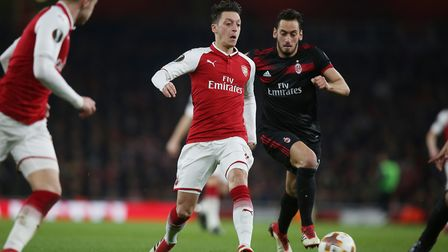 Mesut Ozil has slammed the DFB while annoucing he is quitting the German national side. Picture: Dan