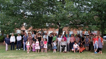 Roe Green residents atr their annual village day (Picture: Debbie Nyman)