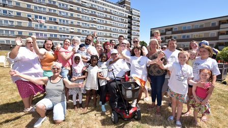 The York Way Estate's 50th anniversary celebrations on Saturday. Picture: Polly Hancock