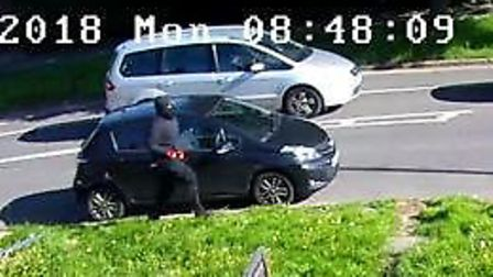 Detectives appeal for witnesses to the shooting at the junction of Beverley Drive and Stag Lane