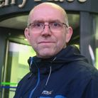Glyn Robbins is a social housing campaigner and manages the Quaker Court estate off Old Street. Pict