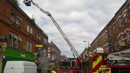 Fire on the High Road, Willesden
