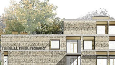 A digital impression of what the new Tufnell Park Primary School building will look like. Photo by M