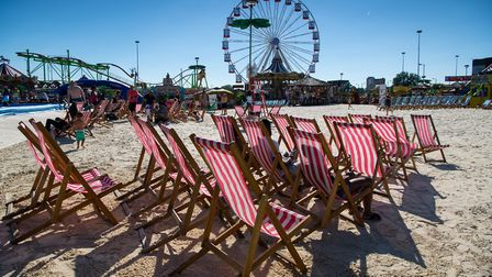 the Beach at Brent Cross