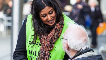 Brent Samaritans joining the charity's Big Listen campaign