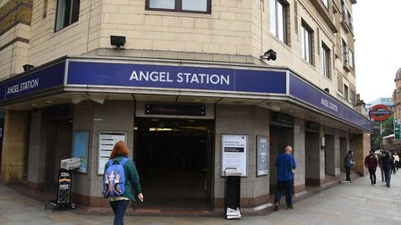 Angel station. Picture: Ken Mears