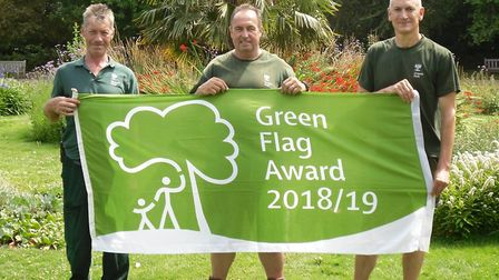 Queen's Park has been awarded a Green Flag