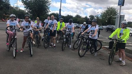 Cycle for Josh supporters raised £900 (Picture: Tracey Hanson)