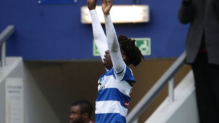 Ebere Eze scored the third goal for Queens Park Rangers against Union Berlin (pic: Yui Mok/PA)