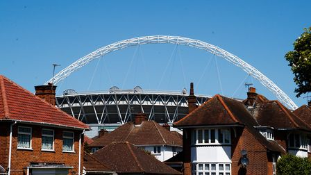 Spurs have played at Wembley Stadium while White Hart Lane is being redeveloped. Picture: Press Asso