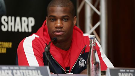 Daniel Dubois will fight Kevin Johnson at the Leicester Arena on October 6 (pic: Natalie Mayhew/Butt