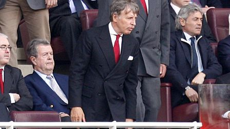 Arsenal majority shareholder Stan Kroenke in the stands. Picture: Sean Dempsey/PA Archive