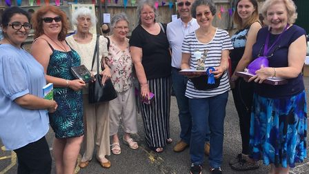 Bake off winners and judges at Preston Community Library's fun day 2017 (Picture: Geraldine Cook)