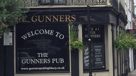 The Gunners Pub has been ordered to close down. Picture: Lucas Cumiskey