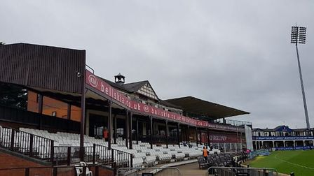Middlesex played Northants at Wantage Road in the County Championship. CREDIT @laythy29