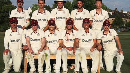 North Middlesex face the camera (pic: North Middlesex CC).