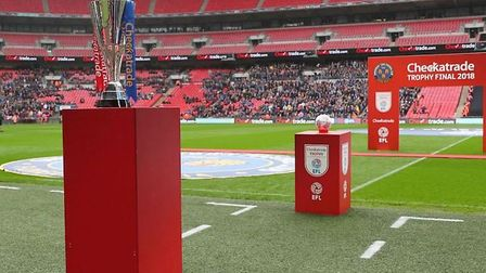 Arsenal U21 played Coventry City in the Checkatrade Trophy. Picutured - the Checkatrade Trophy. CRED