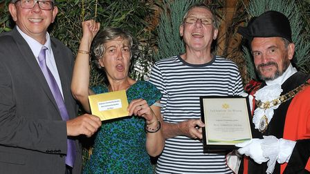 The Culpeper Community Garden team, who scooped Best Community Garden at the awards. Picture: Isling
