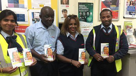 Metroline bus drivers trained in dealing with dementia sufferers (Picture: Ashford Place)