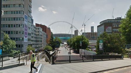 Quintain's ongoing regeneration of Wembley Park (Picture: Google)